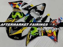 Neon Color Design Movistar R1 2009 2010 2011 Fairing kit For Yamaha with OEM Fitment