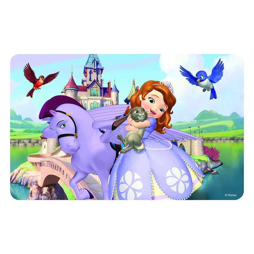 ديزني الأميرة 100 قطعة سنو وايت بازل قطع للأطفال 4-8 للأطفال تعلم الألغاز التعليمية اللعب