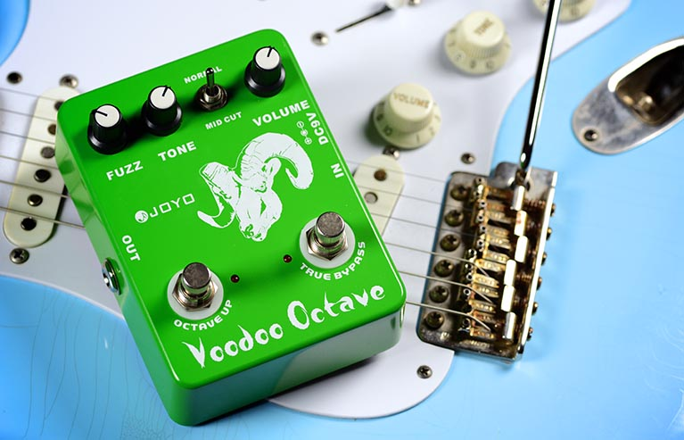 Joyo JF-12 Voodoo Octave Fuzz Guitar Effect Pedal with Free Pedal Case michael duckworth voodoo island