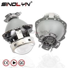 Sinolyn E55 Faro Lente di Messa a Punto Per La Audi A6 C6/BMW E60 X5 E53 E61 E65 E85/Benz W211 w212 D1S D2S D4S Proiettore di Luce Accessorio