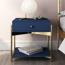 Белый черный Современный Железный Золотой тумбочка кофе диван конец прикроватный столик мебель для дома постельный шкаф спальня