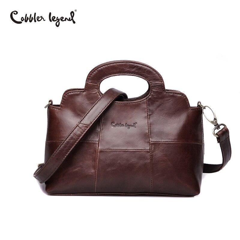 Cobbler Legend Luxury ยี่ห้อผู้หญิงกระเป๋า 2019 กระเป๋าหนังแท้สำหรับผู้หญิง Designer Femble ขนาดเล็ก Crossbody กระเป๋าสุภาพสตรี-ใน กระเป๋าสะพายไหล่ จาก สัมภาระและกระเป๋า บน AliExpress - 11.11_สิบเอ็ด สิบเอ็ดวันคนโสด 1
