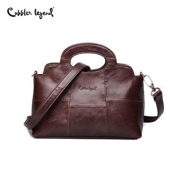 Cobbler Legend Luxus Marke Frauen Taschen 2019 Echtem Leder Taschen Für Frauen Designer Femble Kleine Umhängetasche Schulter Taschen Damen