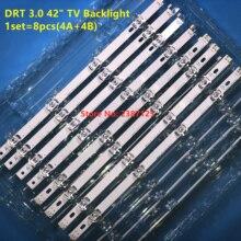 100% orijinal yeni LED arka işık şerit bar LG LC420DUE 42LB3910 INNOTEK DRT 3.0 42 inç A B 6916L 1709A 6916L 1710A 42LF550V