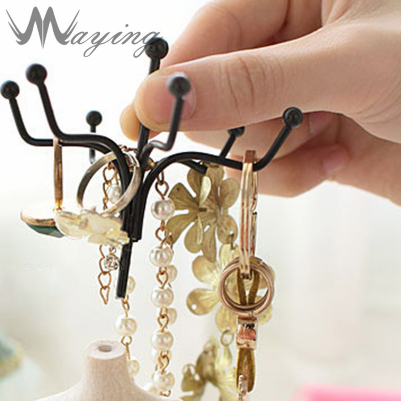 2017 Special Fashion Princess Dress Doll Resin Earrings Holder