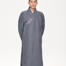 monks dress hanfu gown China monk coat Buddhist Costume Shaolin Temple clothing Kungfu Master clothes