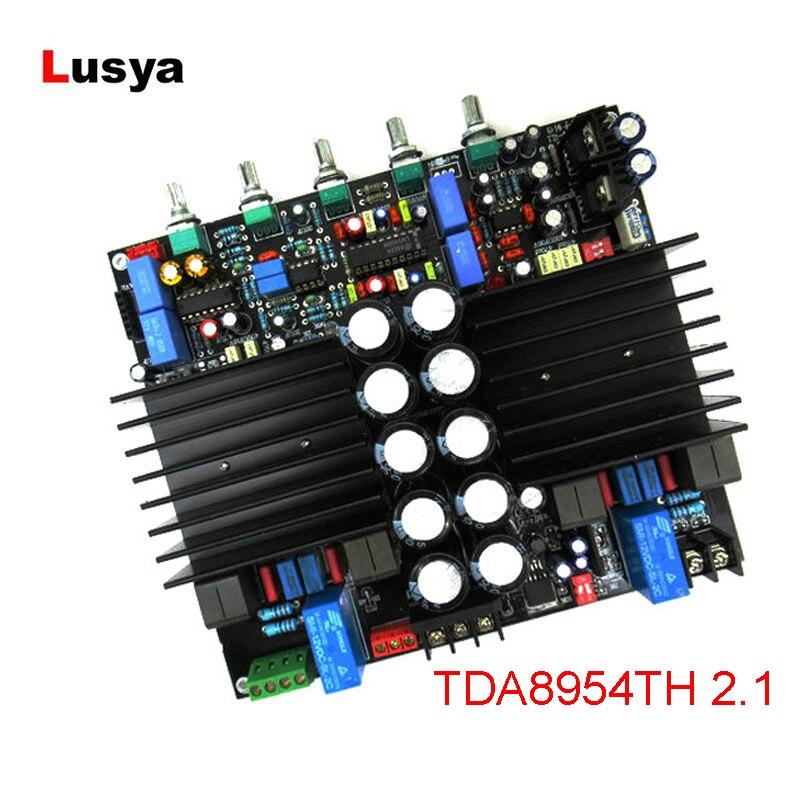 TDA8954TH 2.1 Bluetooth Digital Amplifier Board  210W *2 HIFi Assembled Amplificador Plate LM1036+NE5532 Amplifiers Board C6-003TDA8954TH 2.1 Bluetooth Digital Amplifier Board  210W *2 HIFi Assembled Amplificador Plate LM1036+NE5532 Amplifiers Board C6-003