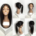 Long Straight Natural Looking Hair Glueless Lace Front Wig& Full Lace Wig For African American Woman12-26inch Heat Resistant
