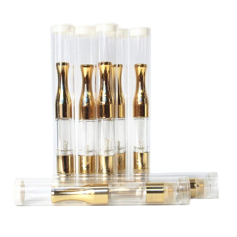 100pcs/lot Jstar Gold G2 Atomizers 510 Cartridges Gold G2 Vaporizer CBD O Pen Vapor Ce3 Mini Cartomizers E Cigarettes