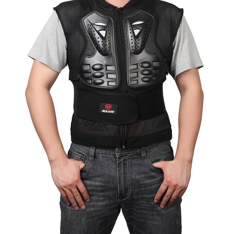 Protection dorsale moto