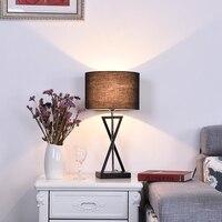 Art Desk Lights LED Desk Lamp Table Lamp Eye Protection AC220V Reading Lamp E27 Home Decoration Jane American Style Table Lights