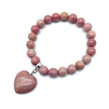 Bracelet Mala En Rhodonite Hyères