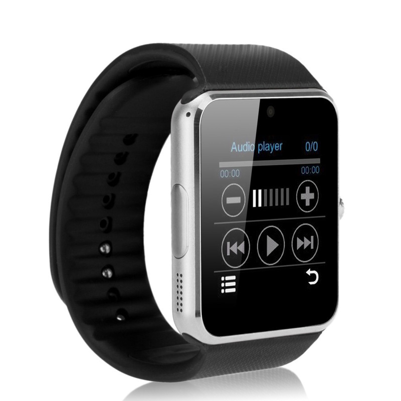 Bluetooth font b Smart b font font b Watch b font GT08 Sync Notifier Support SIM