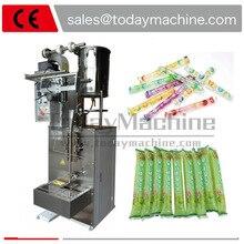 Full automatic juice liquid/liquid ice pop packing machine/liquid popsicle packaging machine все цены