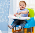 Free Shipping Child Portable Folding Multifunctional Baby Meal Chair For 7-36 Month Baby Use