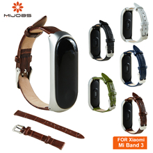 New Leather Wrist Strap For Mi Band 3 Smart Watch bracelet for Xiaomi Mi Band 3 Strap Accessories Wristbands miband3 Replacement цена