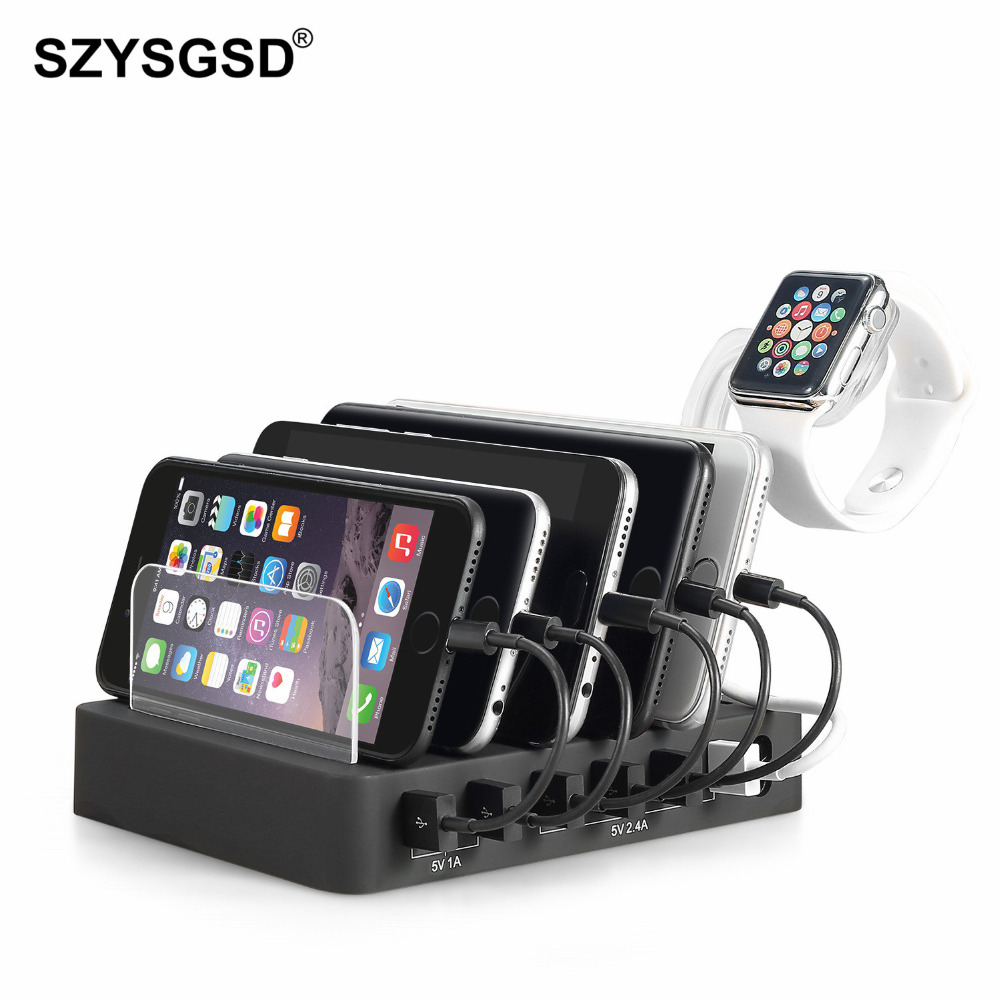 Fanciful Iphone Samsung Lg Mobile Phonechargers From Charging Station Dock Stand Her Ports Multi Ction Charging Station Dock Stand Her Ports Multi Ctionuniversal Usb Charger houzz-03 Multi Device Charging Station