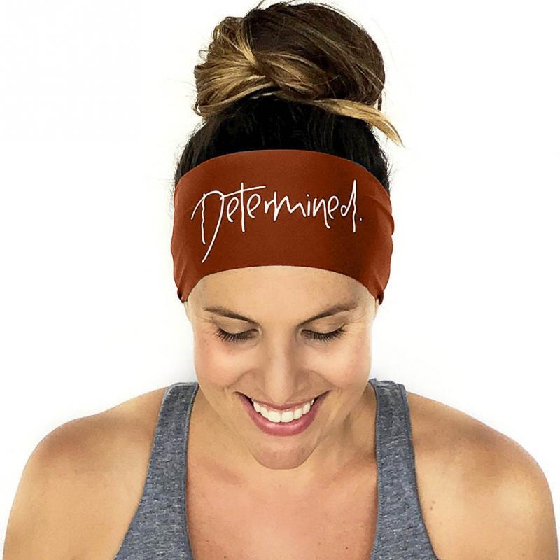 <+>  Йога оголовье Спорт Женщины Бег Спортивная повязка на голову Тюрбан оголовье Женская повязка на воло ①