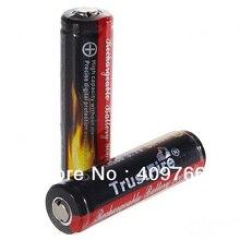 Pçs e lote Trustfire 14500 AA 900 Mah 3.7 V Protected Bateria Li-ion Baterias Recarregáveis Frete Grátis