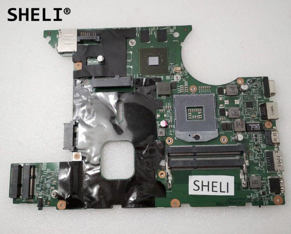 SHELI For Lenovo V470C Motherboard HM65 with N12M-GS-B-A1 GT410M 55.4MA01.031SHELI For Lenovo V470C Motherboard HM65 with N12M-GS-B-A1 GT410M 55.4MA01.031
