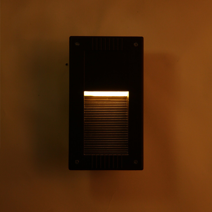 LED Recessed Font B Wall