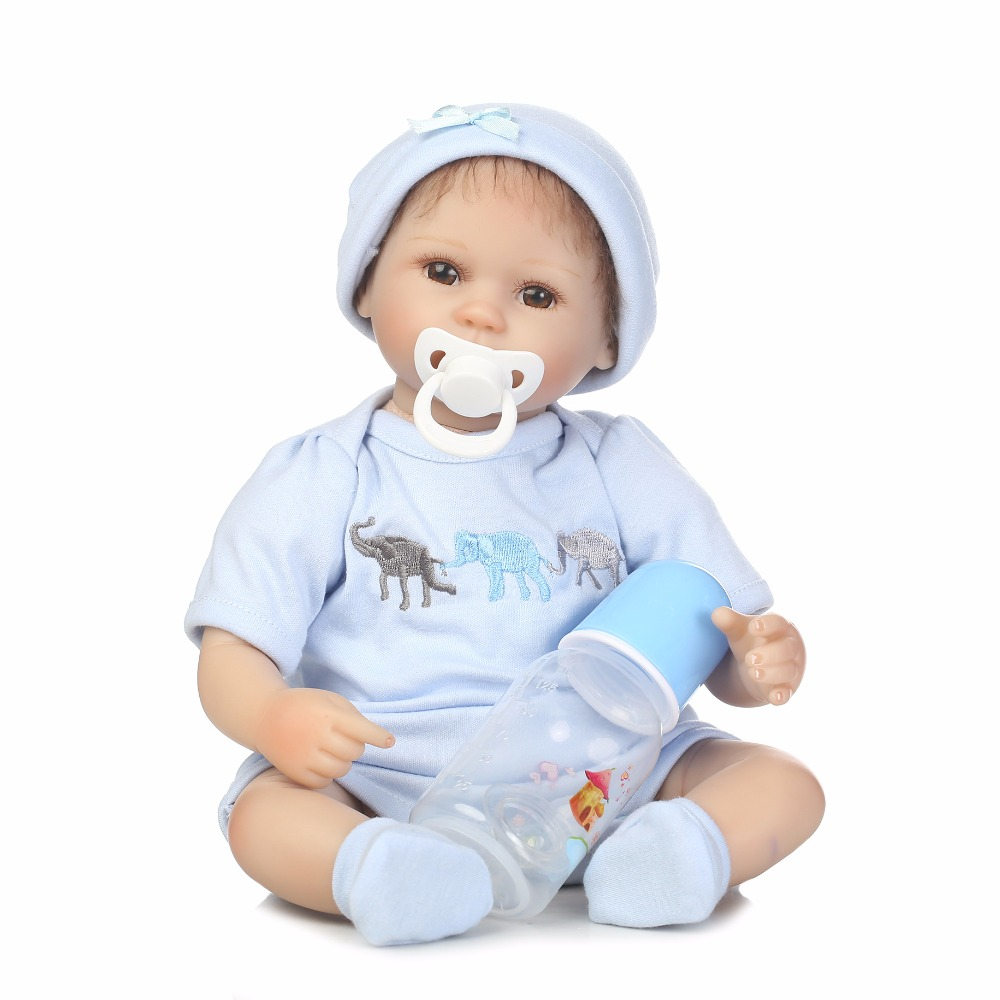 40cm Silicone reborn baby doll toys 16inch newborn boy babies reborn toy doll birthday present gift play house bedtime toy 40cm full body silicone vinyl reborn baby doll 16inch newborn girls babies doll bath toy child birthday gift present child play