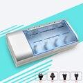 Multi uso indicador led del cargador de batería para baterías de nimh nicd aa/aaa/sc/c/d/9 v tamaño de la batería