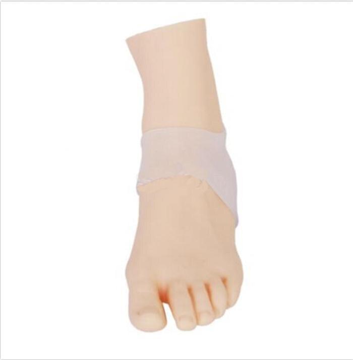 1 пара, уход за ногами, практичные гелевые вставки на пятке, увлажняющие протекторы на пятке, силиконовая удобная обувь