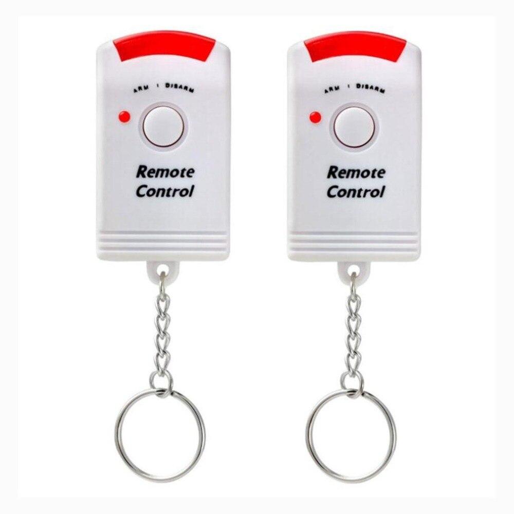 2 télécommandes hangar garage caravane Sans fil détecteur mouvement PIR alarme