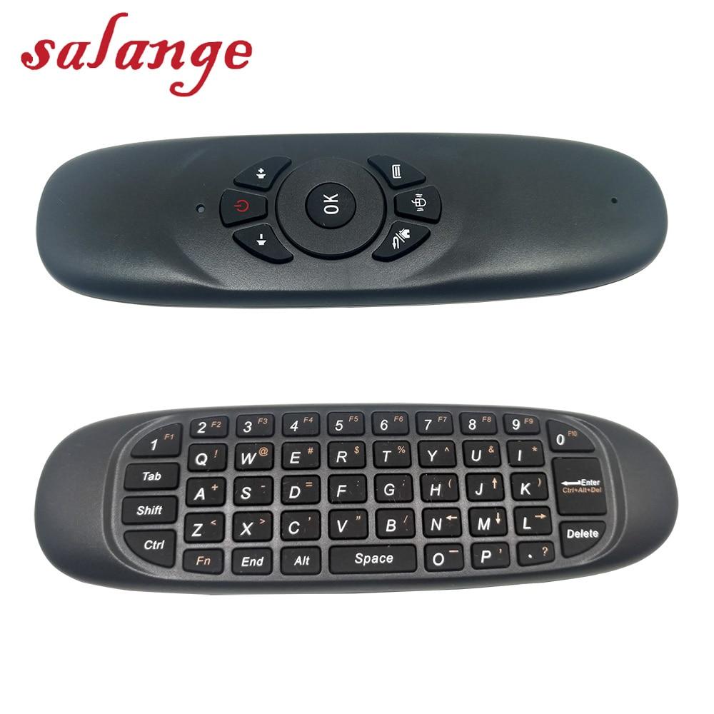 C120 Alle In Einem 2,4g Air Maus Wiederaufladbare Drahtlose Fernbedienung Tastatur Für Projektor Android Tv Box Computer Diversifiziert In Der Verpackung