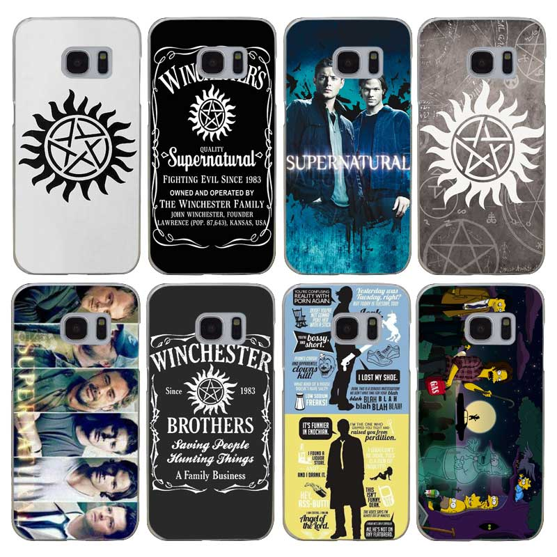 G294 Supernatural Transparent Hard PC Case Cover For Samsung Galaxy S Note 3 4 5 6 7 8 9 Edge Plus