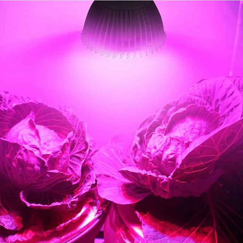 Пълна спектрална светлина за растеж E27 LED растения за отглеждане лампа лампара Led Cultivo Led Lights за цветно растение Hydroponic расте P20