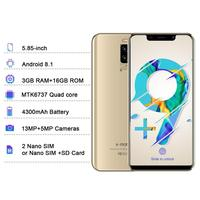 """cell phone screen 4G LTE TEENO VMobile S9 Mobile Phone Android 8.1 3GB+16GB 5.84"""" 19:9 Screen 13MP Camera celular Smartphone unlocked Cell Phone (1)"""