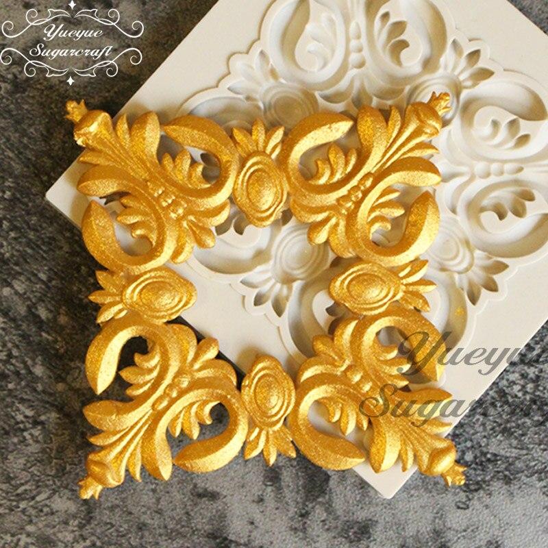 Yueyue Sugarcraft Newest Silicone  Mold Fondant Mold Cake Decorating Tools Chocolate Gumpaste Mold