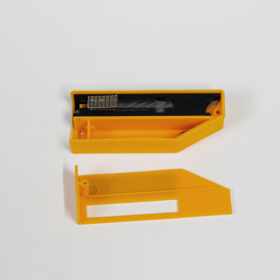 Yellow Blade Disposal Tool Disposal Blade Containers Safety Blade Disposal Case MO 633 in Car Stickers from Automobiles Motorcycles