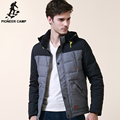 Pioneer Camp brand clothing winter down coat men thicken 100%cotton white duck down jacket mens quality male business parkas