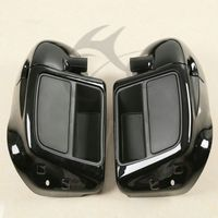 Lower Vented Leg Fairing Glove Box For Harley Touring Models Road King Street Electra Glide Ultra