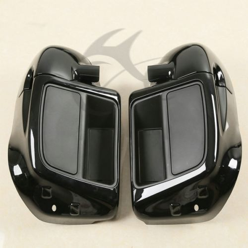 Lower Vented Leg Fairing Glove Box For Harley Touring Models Road King Street Electra Glide Ultra FLTR FLHX FLHT FLHR 2014-2018 цена и фото