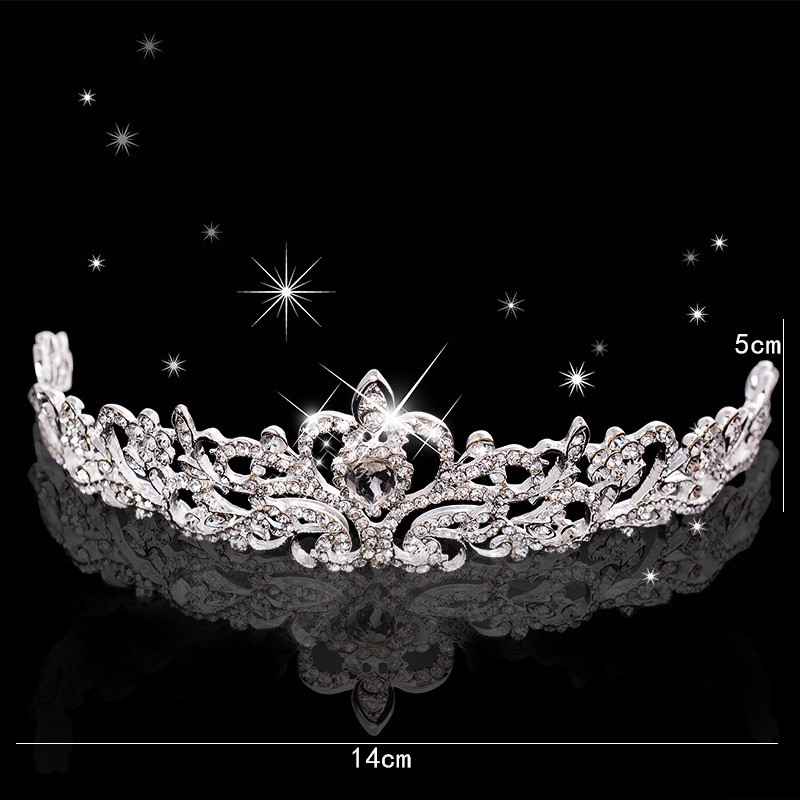 HTB1HBI3LXXXXXaHXXXXq6xXFXXXr Magnificent Bridal Prom Pageant Crystal Inlaid Queen Tiara Crown - 2 Styles