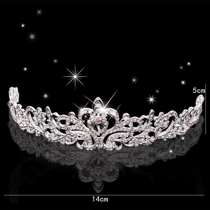 HTB1HBI3LXXXXXaHXXXXq6xXFXXXr Magnificent Bridal Prom Pageant Crystal Inlaid Queen Tiara Crown - 2 Styles