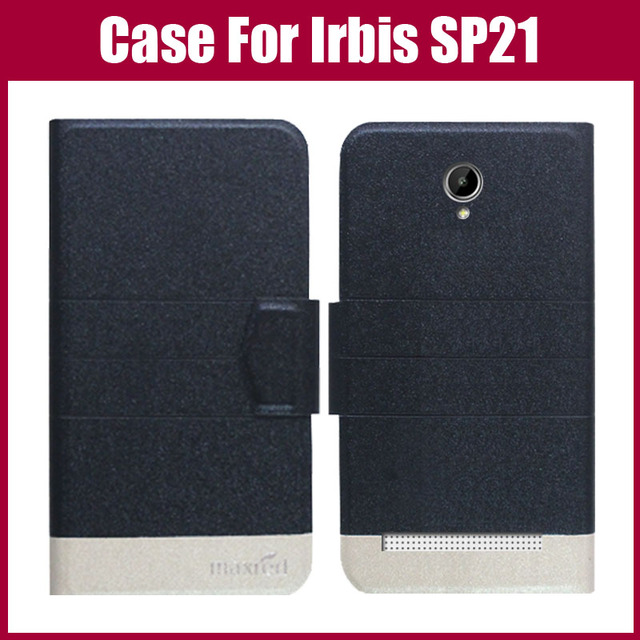 Hot Sale! Irbis SP21 Case High Quality 5 Colors Fashion Flip Ultra-thin Leather Protective Cover For Irbis SP21 Case Phone Bag