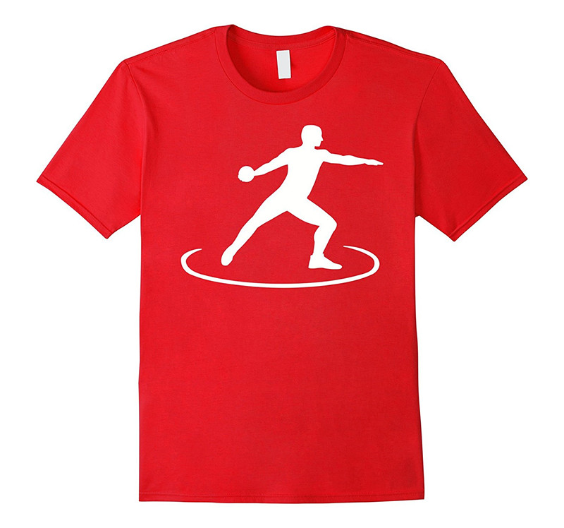 T Shirt Shop Crew Neck Short-Sleeve Fashion 2018 Mens Discus Thrower Tee Shirts