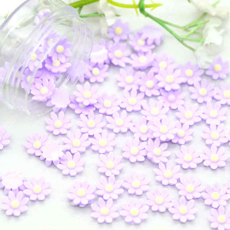 8mm Cute Resin Tiny Flatback Flowers|DIY Crafting Flower Miniatures|Party decoration Flowers|Nail Art decoration Flowers