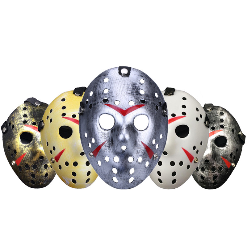 Jason Voorhees Mask Halloween Horror Masks Party Maske Masquerade Cosplay Friday The 13th Scary Masque Funny <font><b>Terror</b></font> Mascara Prop image