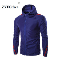 2017 Spring And Summer Autumn New Style Men S Hooded Sunscreen Casual Jacket Men Urban Fashion