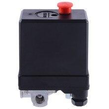 1 Pcs 3 phase 380/400 V Kompressor Druck Schalter Heavy Duty Air Kompressor Druck Switch Control Ventil Mayitr
