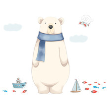 Inkjet Removable Cartoon Wall Stickers Home Interior 3d Adhesive wallpapers mural wallpaper  for childrens room