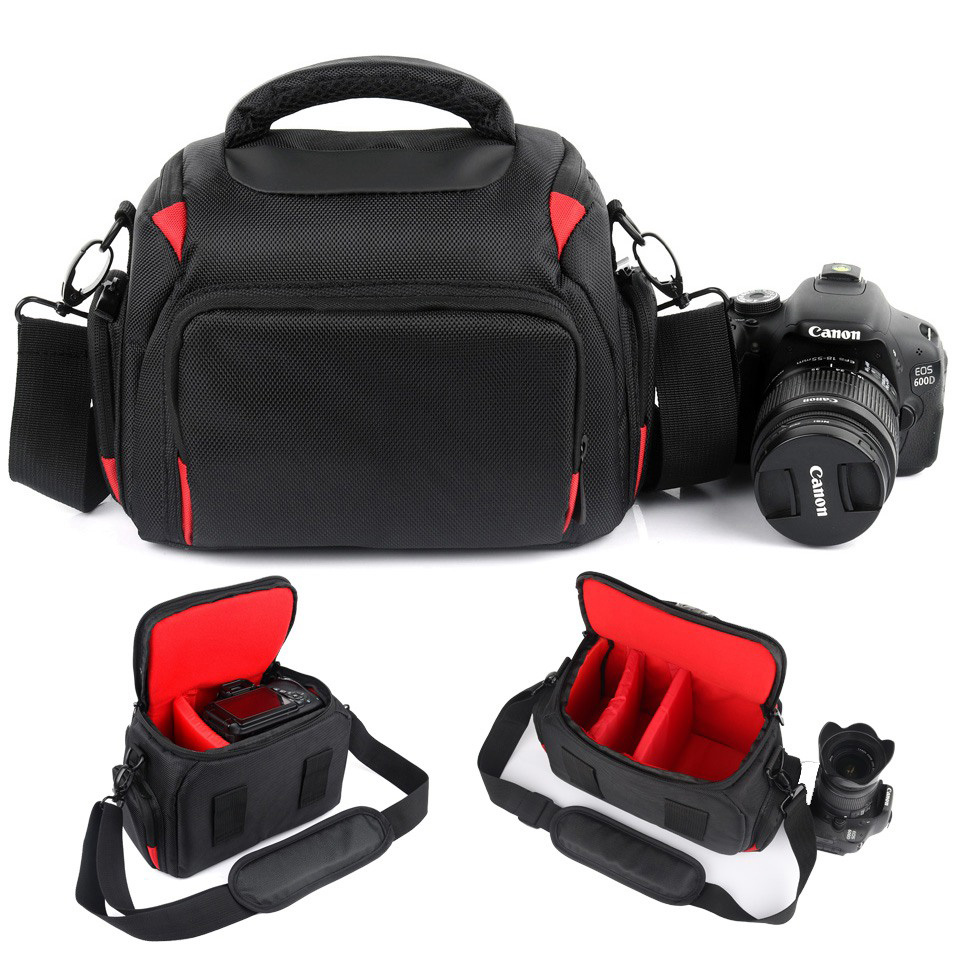 Insert Partition DIY Padded Camera Bags Case For CANON 800D 200D 80D 77D