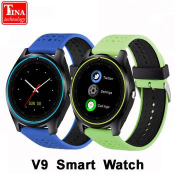 New Original  V9 Smart Watch with Camera Smartwatch Pedometer Health Sport Clock Hours Men Women Smartwatch For Android IOS xanes a6s