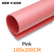 """100cm*200cm 39""""*79"""" Pink Seamless Water proof PVC Backdrop Background Paper for Photo Video Photography Studio"""